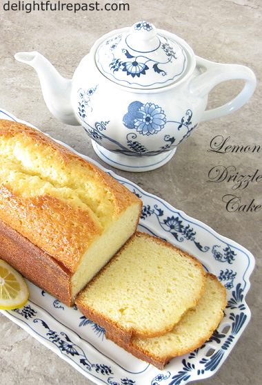 Lemon Drizzle Cake - The Best Lemon Loaf Cake / www.delightfulrepast.com