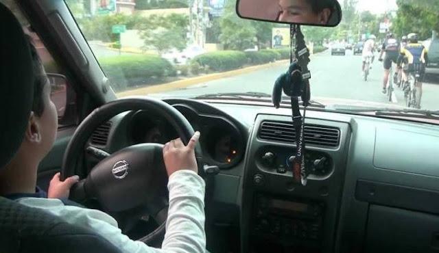 Adolescente é flagrado dirigindo veículo no bairro São Cristóvão, em Três Barras
