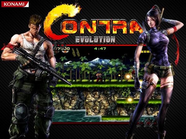 Free Download Game: Contra Evolution Revolution HD - Full