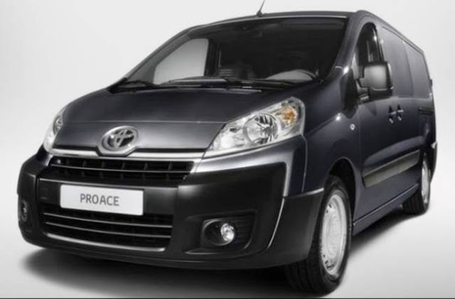 2017 Toyota Proace Redesign