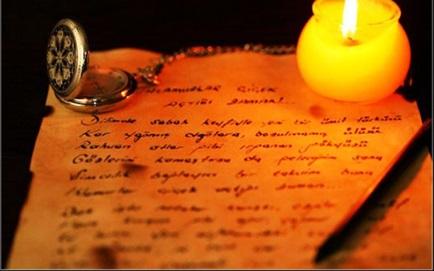 aşk mektubu örnekleri