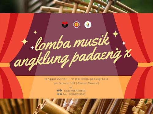 Lomba Musik Angklung Pa Daeng X