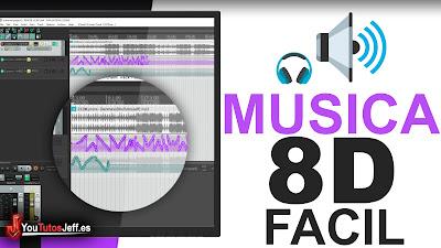 crear musica 8D