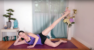 the best moves for the best booty  yoga with kassandra