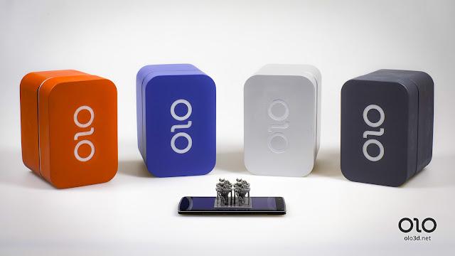 Thiết bị OLO biến mọi smartphone thành máy in 3D - Ảnh: olo3d.net
