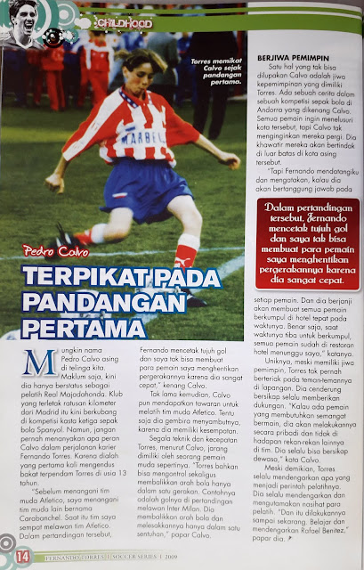 PROFILE OF FERNANDO TORRES ATLETICO MADRID