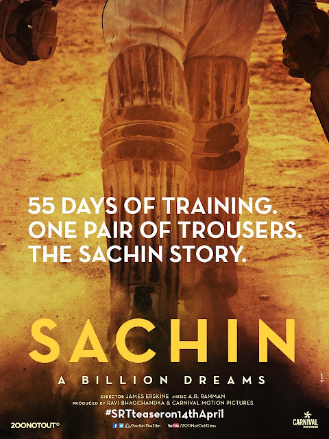 Sachin: A Billion Dreams - Poster