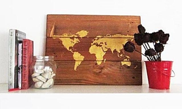 Cuadros con madera reciclada 2