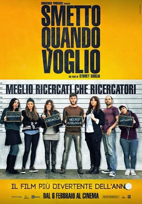 Smetto Quando Voglio 2014 ταινιες online seires oipeirates greek subs
