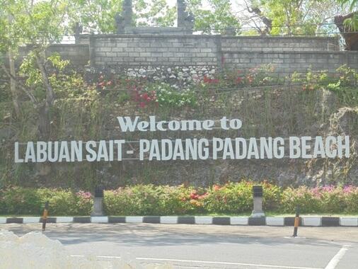 Padang Padang Beach Bali, Padang Padang Original Beach Bali, Labuan Sait Beach Bali