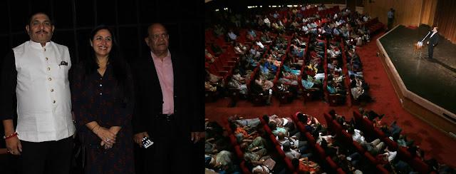 सुरिंदर शर्मा और सुनील जोगी ने श्रोताओं को किया मंत्रमुग्ध