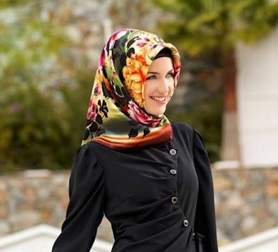 trend hijab casual minimalis untuk kerja