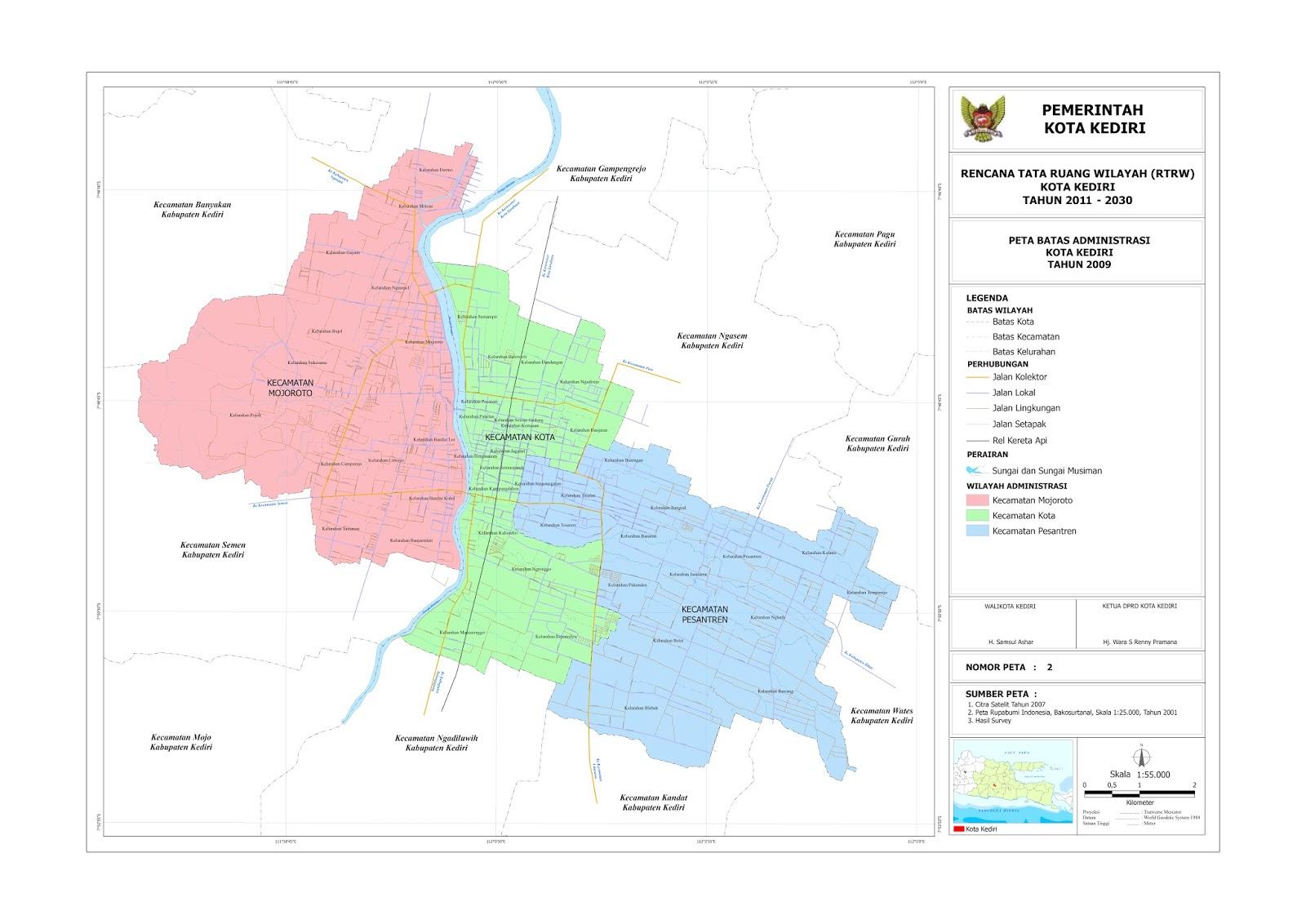 Profil Kota Kediri