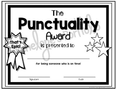 The Punctuality Award