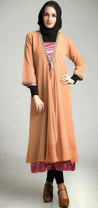 Contoh Model Dress Muslim Terbaru