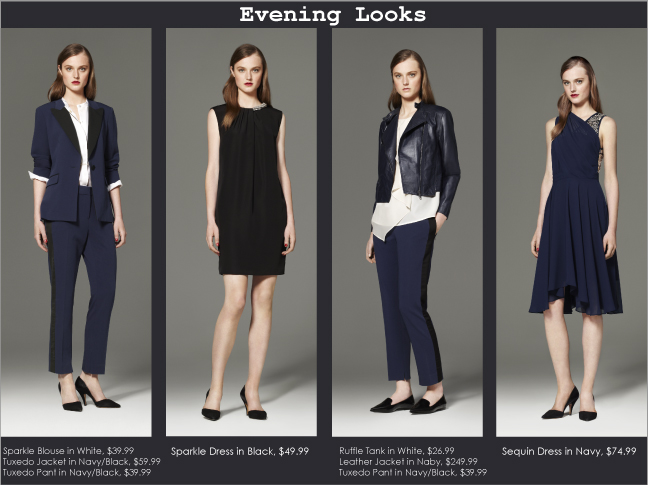 3.1 Phillip Lim Collection for Target - Evening Looks