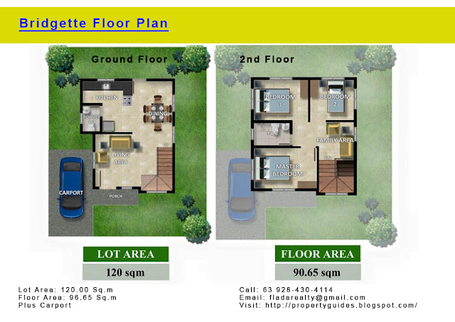 Bridgette House Floor Plan