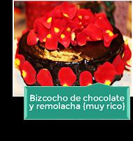 LA MEJOR TARTA DE CHOCOLATE Y REMOLACHA