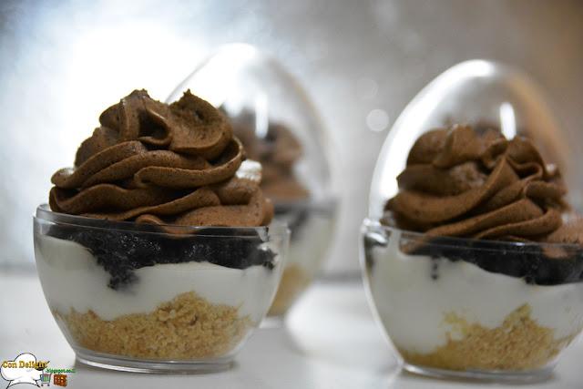 Chocolate and cheese dessert קינוח גבינה ושוקולד