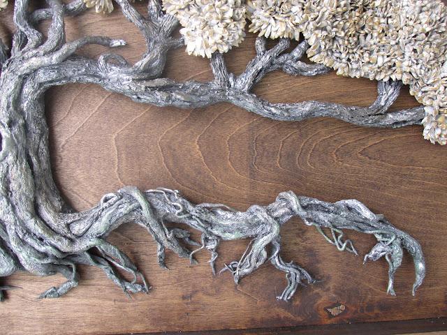 Love locks tree  Tree of life bi dimensional sculpture by eileenAart
