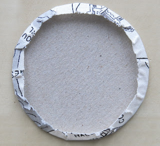 Hand applique circles - Foil method