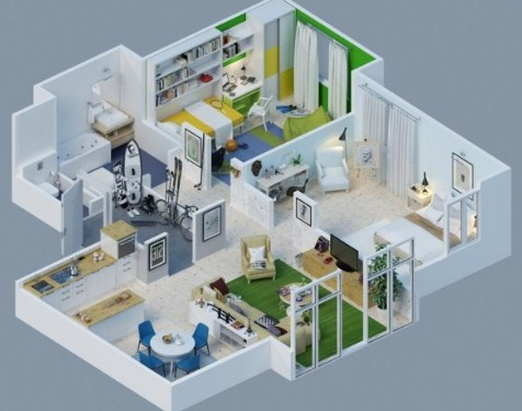 Gambar Rumah Sederhana 3 Kamar Tidur Minimalis 2 Kamar Tidur Dan Musola 2017 Perusahaan Kontraktor Kontraktor Rumah Jasa Konstruksi