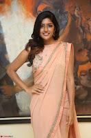 Eesha Rebba in beautiful peach saree at Darshakudu pre release ~  Exclusive Celebrities Galleries 020.JPG