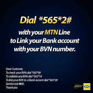 Steps on How To Validate, Update and Link Your BVN To Your Bank Account