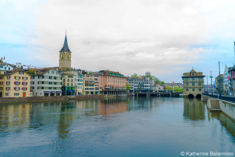 Limmat River What to Do One Day in Zurich