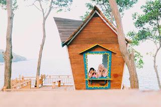 Rute Dan Lokasi Pantai Lampon Pasir Kebumen, Ada Rumah Pohonya Lho