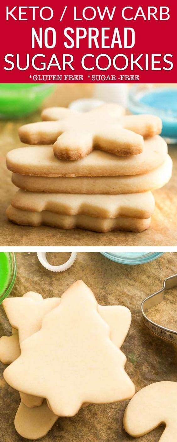 Keto Low Carb Sugar Cookies