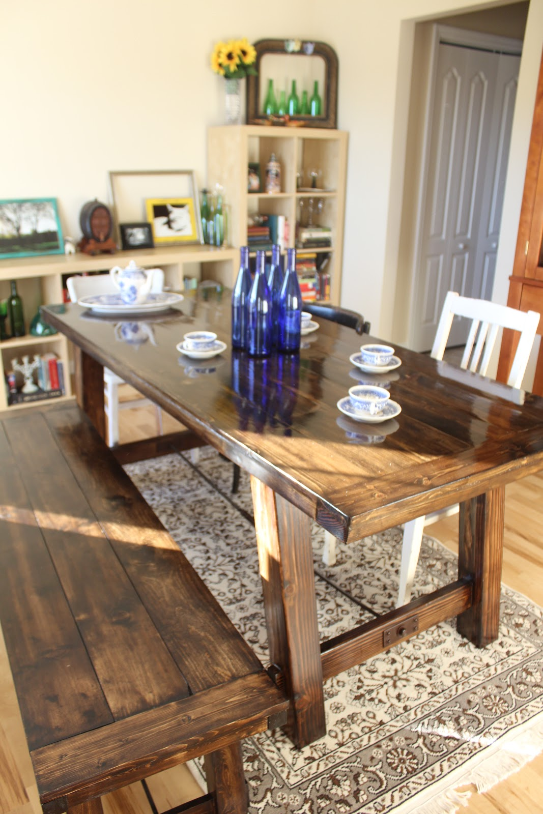Cheap Farmhouse Table And Chairs Wood Outdoor Chair Diy