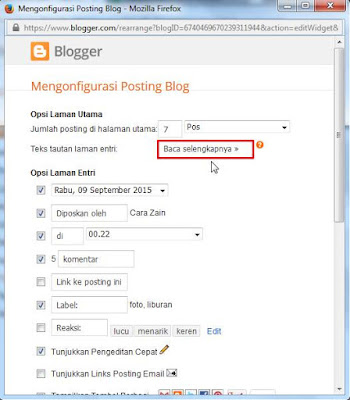 Cara Membuat Read More Manual Di Blog Tanpa Edit HTML