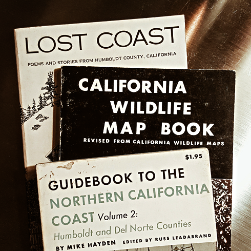 vintage california travel books