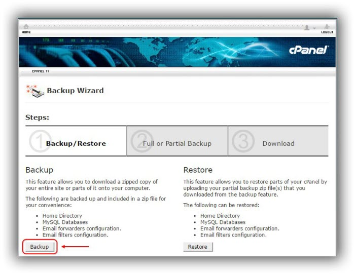 cPanel-cara-backup-home-directory