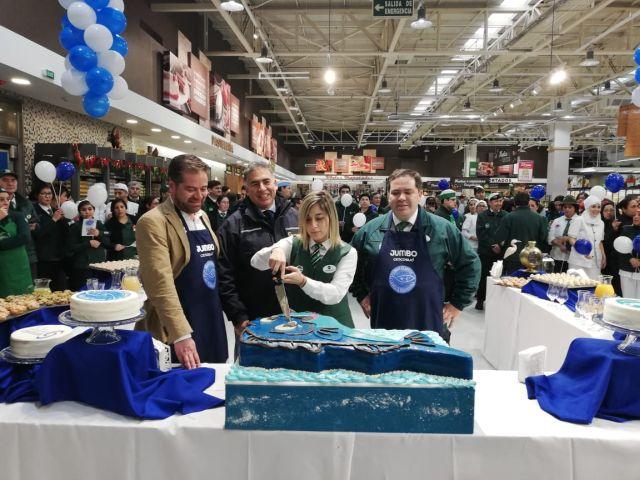 Sernapesca otorga primer sello azul a Jumbo Puerto Montt y Puerto Varas