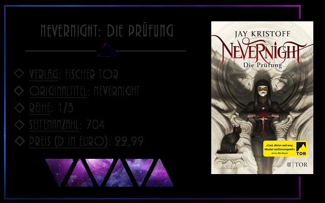 [Rezension] Nevernight: Die Prüfung - Jay Kristoff