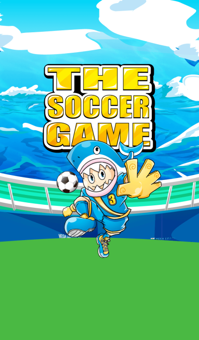 The soccer game 4