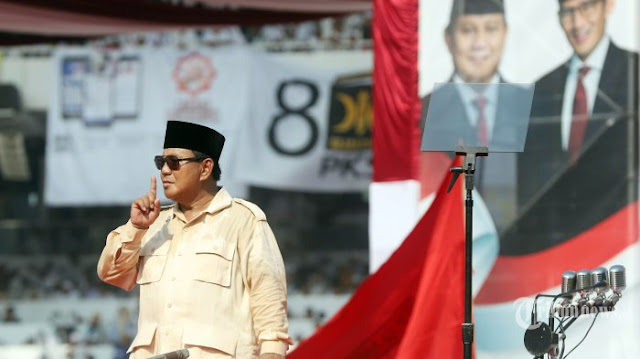 Sentil Metro TV, Prabowo: Dia Sudah Gak Punya Nurani, Gak Punya Akhlak, Gak Usah Ditonton!