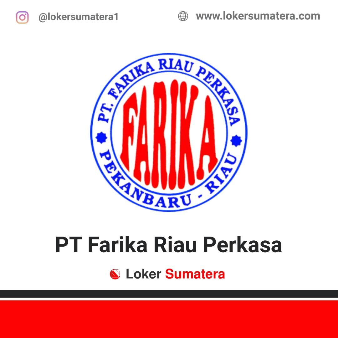 Lowongan Kerja Pekanbaru: PT Farika Riau Perkasa (Farika Beton) September 2020
