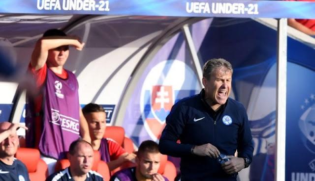 Pelatih Slovakia Tetap Bangga Meski Timnya Kalah dari Inggris 1-2