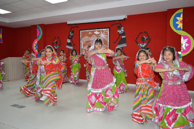 teej celebration at SRS INTERNATIONAL SCHOOL