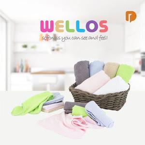 Wellos Towel Handuk Set (Set of 16)