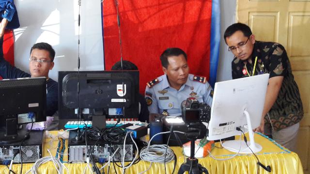 Dukcapil Padang Pariaman Jemput Bola Rekam KTP-el , Untuk Warga Binaan Lapas Kelas II B Pariaman
