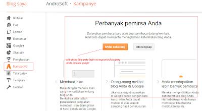 gambar fasilitas terbaru menu blogger campaign