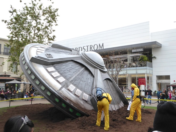 X-Files crashed UFO The Grove