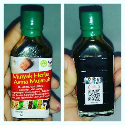 minyak herba asma tulin dan original