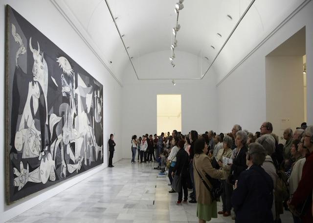 Guernica no Museu Reina Sofia em Madri