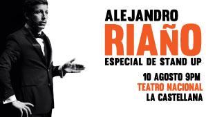 ESPECIALES STAND UP - ALEJANDRO RIAÑO