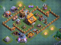 Gambar Base Aula Tukang Level 3 Clash Of Clans Terbaru